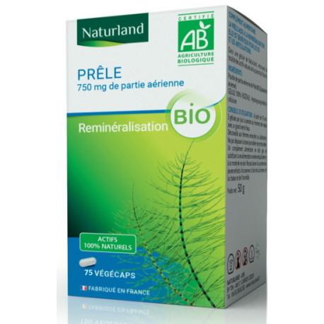 Prêle - 75 gélules Végécaps - Naturland Bio sante senior