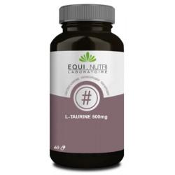 L-Taurine 60 gélules végétales 500mg Equi Nutri acide aminé Bio sante senior
