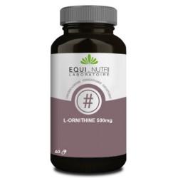 L Ornithine 60 gélules végétales 500mg Equi Nutri