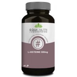 L-Histidine 500mg  60 gélules végétales Equi Nutri Bio sante senior