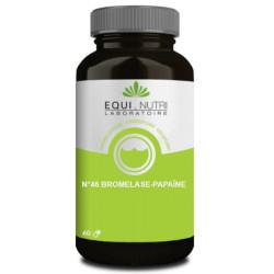 Bromelase Papaine 60 gélules végétales Equi Nutri