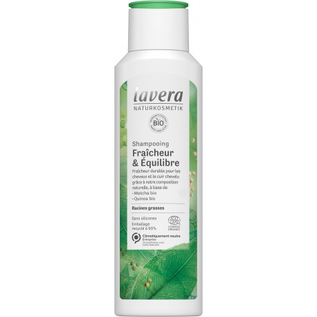Shampooing fraicheur et équilibre 250ml Lavera
