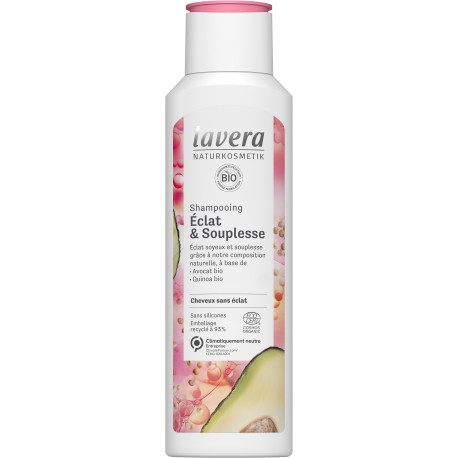 Shampoing Eclat et Souplesse 250 ml-Lavera