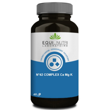 Calcium Magnesium Potassium 60 gélules végétales Equi Nutri équilibre acido basique Bio santé sénior
