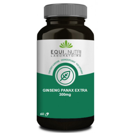 Ginseng Panax 90 gélules 300mg Equi Nutri bio sante senior