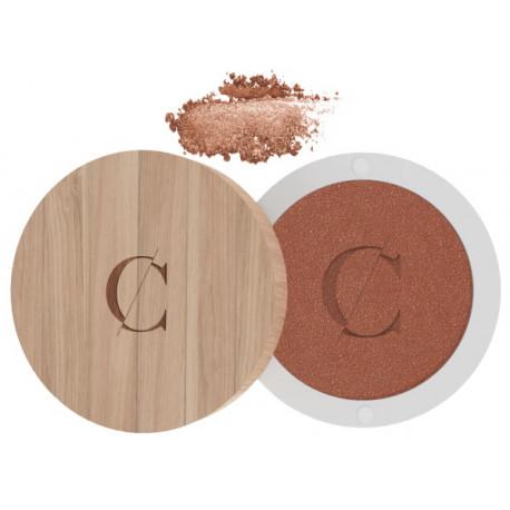Ombre à paupières No 07 Or cuivré nacré 1.7gr Couleur Caramel maquillage bio certifié Bio santé sénior