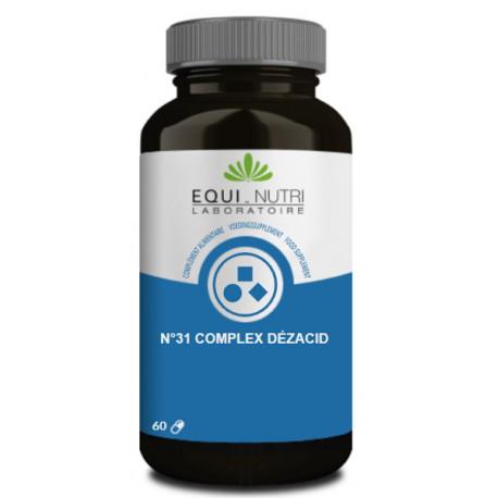 Dezacid 60 gélules végétales Equi Nutri Bio santé sénior acidité