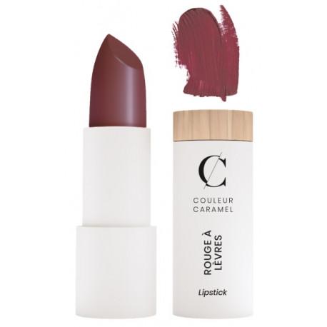 Rouge à lèvres Mat No 258 Lie de Vin 3.5gr Couleur Caramel mystère et charme Bio santé sénior