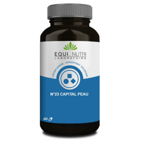 Capital Peau Complexe 23 - 60 gélules végétales Equi Nutri bio sante senior