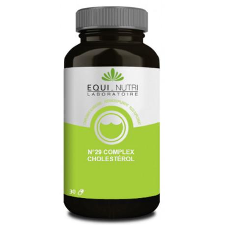 Complex cholesterol N°29 30 gélules végétales Equi Nutri Bio santé sénior
