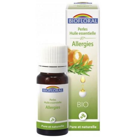 Perles d'huiles essentielles complexe Allergies 20ml biofloral huiles essentielles Bio santé sénior