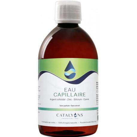 Eau Capillaire recharge, 500 ml Catalyons, en vente chez biosantesenior.fr force et vitalité