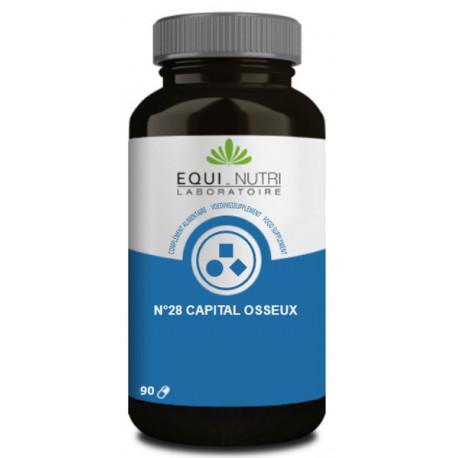 Capital Osseux Complexe N° 28 90 gélules Equi Nutri Bio sante senior
