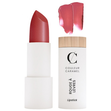 Rouge à lèvres nacré No 238 Framboise acidulée 3.5gr Couleur Caramel glossy moderne nacré Bio santé sénior