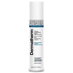 Crème hydratante riche ultra confort 50 ml Dermatherm peaux très sèches Bio santé sénior