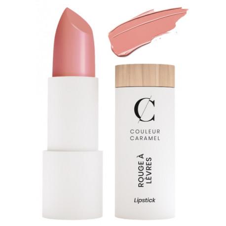 Rouge à lèvres satiné No 255 Rose lumière 3.5 gr Couleur Caramel maquillage minéral Bio santé sénior