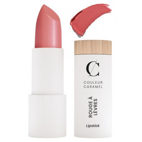 Rouge à lèvres nacré No 287 rouge rosé 3.5gr Couleur Caramel brillant moderne maquillage Bio santé sénior