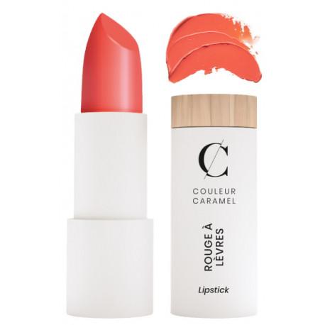 Rouge à lèvres glossy No 501 Mandarine 3.5gr Couleur Caramel trendy glossy moderne Bio santé sénior