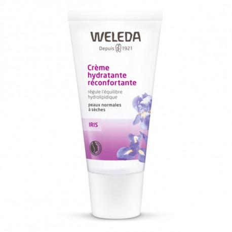 Crème de jour hydratante réconfortante à l'Iris 30ml Weleda jojoba Bio santé sénior