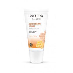 Cold Cream visage soin protecteur intensif 30 ml Weleda, crème hydratation intense bio