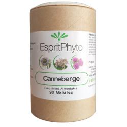 Canneberge Cranberry 90 gélules EspritPhyto cystite cystil Bio sante senior