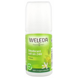 Déodorant roll on 24h Citrus 50 ml Weleda