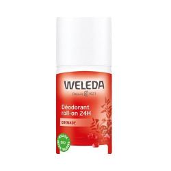 Déodorant roll-on 24h Grenade 50ml Weleda - déodorant bio