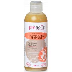 Shampooing Traitant Bio Propolis Miel Argile et Cade 200 ml Propolia séborrhée pellicules Bio sante senior