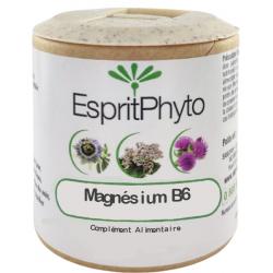 EspritPhyto - Magnésium B6 - 90 gélules stress nervosité Bio santé sénior