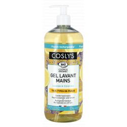 Gel Lavant Fraicheur Mains Lavande Citron 1 l Coslys savon liquide bio sante senior