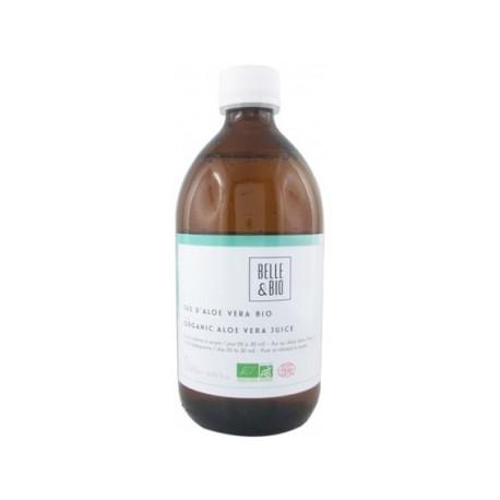 Aloe vera liquide 500ml Belle et bio - complément alimentaire bio santé senior