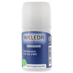 Déodorant roll on 24h Homme 50 ml Weleda