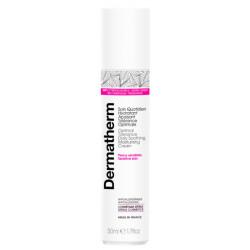 Soin quotidien hydratant apaisant tolérance optimale 50 ml Dermatherm peaux sensibles contre les irritations Bio santé sénior