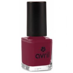 Vernis à ongles Bourgogne n°26 7ml Avril Beauté - maquillage vegan pour les ongles - vernis vegan