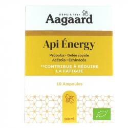 Api Energy 10 ampoules de 10ml Aagaard