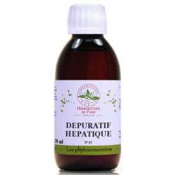 Phyto concentré Dépuratif Hépatique 200 ml  Herboristerie de Paris draineur du foie Bio santé sénior