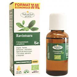 Huile essentielle de Ravintsara Flacon compte gouttes 30ml Naturesun'Aroms
