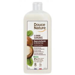 Crème douche surgras à l'huile de karité nourrissant 1 Litre Douce Nature