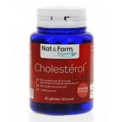 Cholestérol Q10 60 gélules - Nat et Form