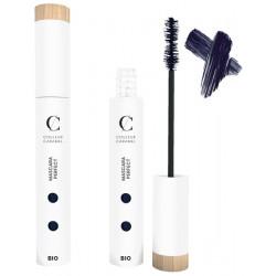 Mascara Perfect Volumateur no 43 Bleu incandescent 6 ml Couleur Caramel maquillage des yeux bio santé sénior