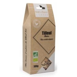 Tisane Aubier de Tilleul blanc 100g - Nat et Form