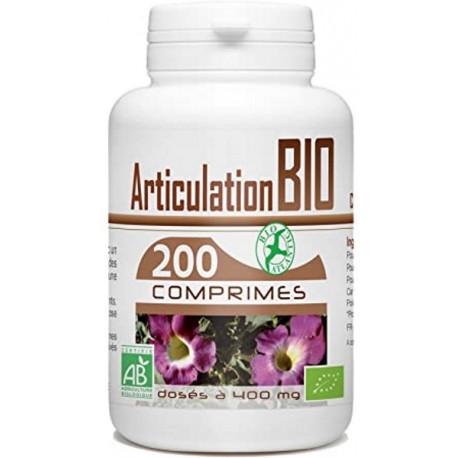 Harpagophytum bio 200 comprimés de 400mg GPH DIffusion articulations et confort Bio santé sénior