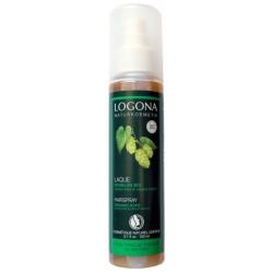 Spray coiffant résines végétales au houblon bio 150 ml Logona résines végétales shellac Bio sante senior
