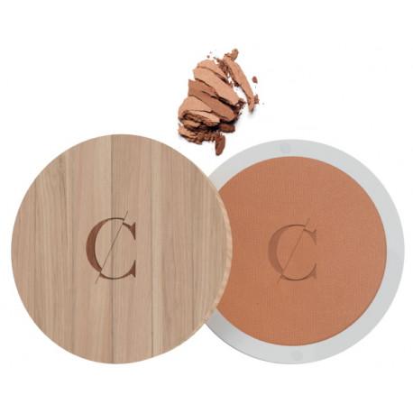 Terre Caramel No 28 Halé nacré effet bronzé 8.5gr Couleur Caramel teint mat hâlé nacré sublimant Bio santé sénior