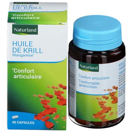 Naturland Krill huile 45 capsules, Krill oil, biosantesenior.fr
