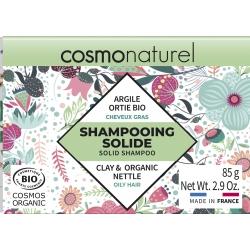 Shampooing solide Cheveux Gras 85gr Cosmo Naturel shampoing ecologique economique bio santé sénior