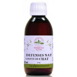 Phyto Concentré Griffe de Chat 200ml Herboristerie de paris cat's claw uncaria tomentosa défenses bio santé sénior
