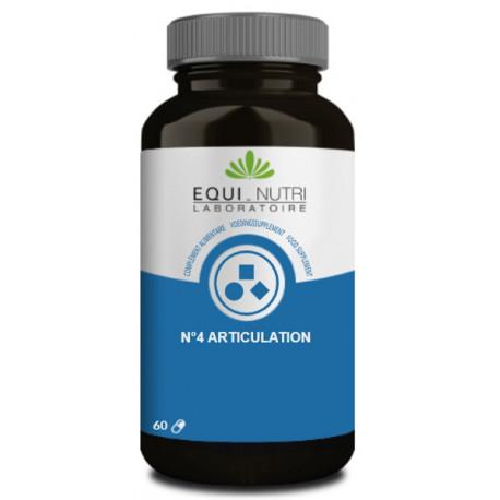 Articulation Complexe N° 4 - 60 gélules Equi Nutri silicium selenium chondroitine Bio sante senior