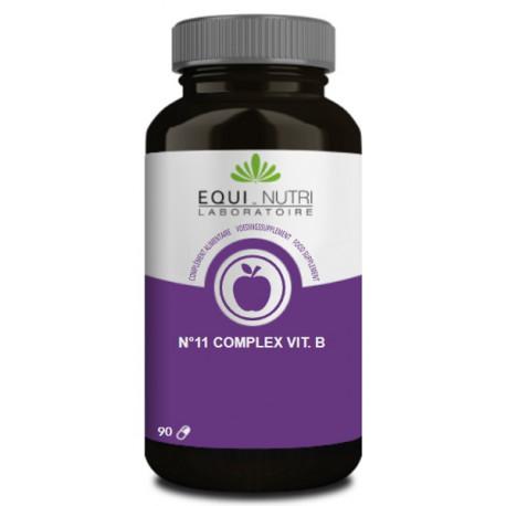 N11 B 50 Complexe 90 gélules végétales Equi Nutri nutrithérapie Bio santé sénior