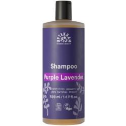 Shampooing Purple Lavender cheveux normaux et secs 500 ml Urtekram cheveux ternes et cassants Bio santé sénior